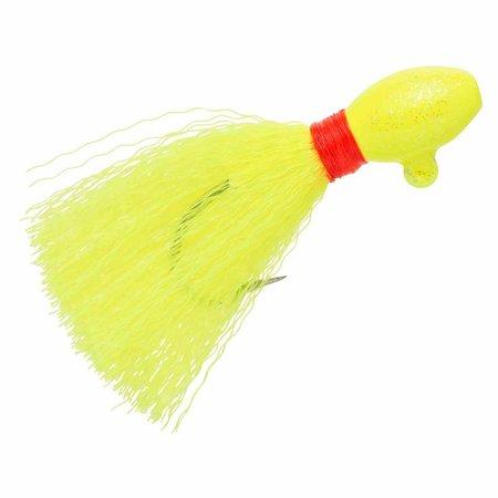 Wahoo WAH-PPJ12-10 Egg Pompano Jig 1/2oz Cht Hand-tied Nylon