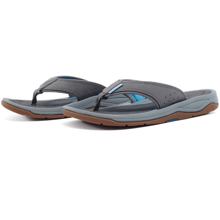 Grundens Deck-Boss Sandals Gray