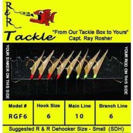 R & R Tackle Tackle RF6 Small Bait Sabiki Rig