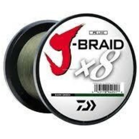 Daiwa J-Braid X8 3000M Dark Green 15lb