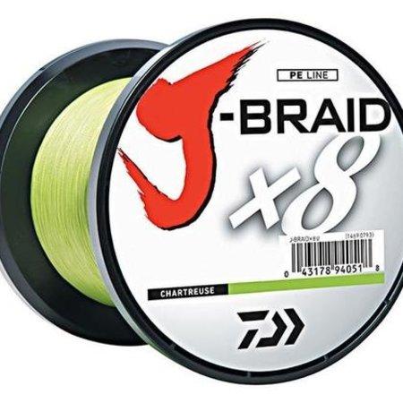Daiwa J-Braid X8 3000M Chartreuse 10LB