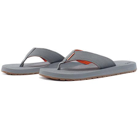 Grundens Deck Hand Sandals Glacier Gray