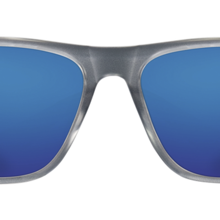 Costa del Mar Apalch Matte Gray Crystal Frame, Blue Mirror Glass Lense