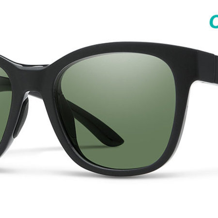 Smith Optics Caper Matte Black CP Frame, Gray Green Lense