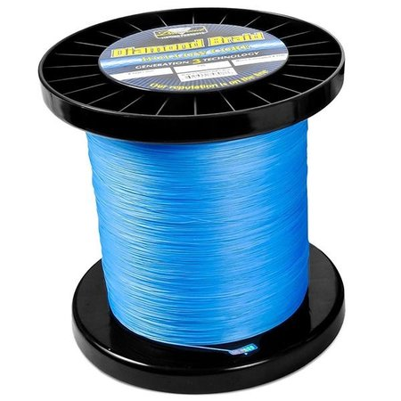 Diamond Generation 3 Braid 3000 Yd  Hollow Core 130T Blue