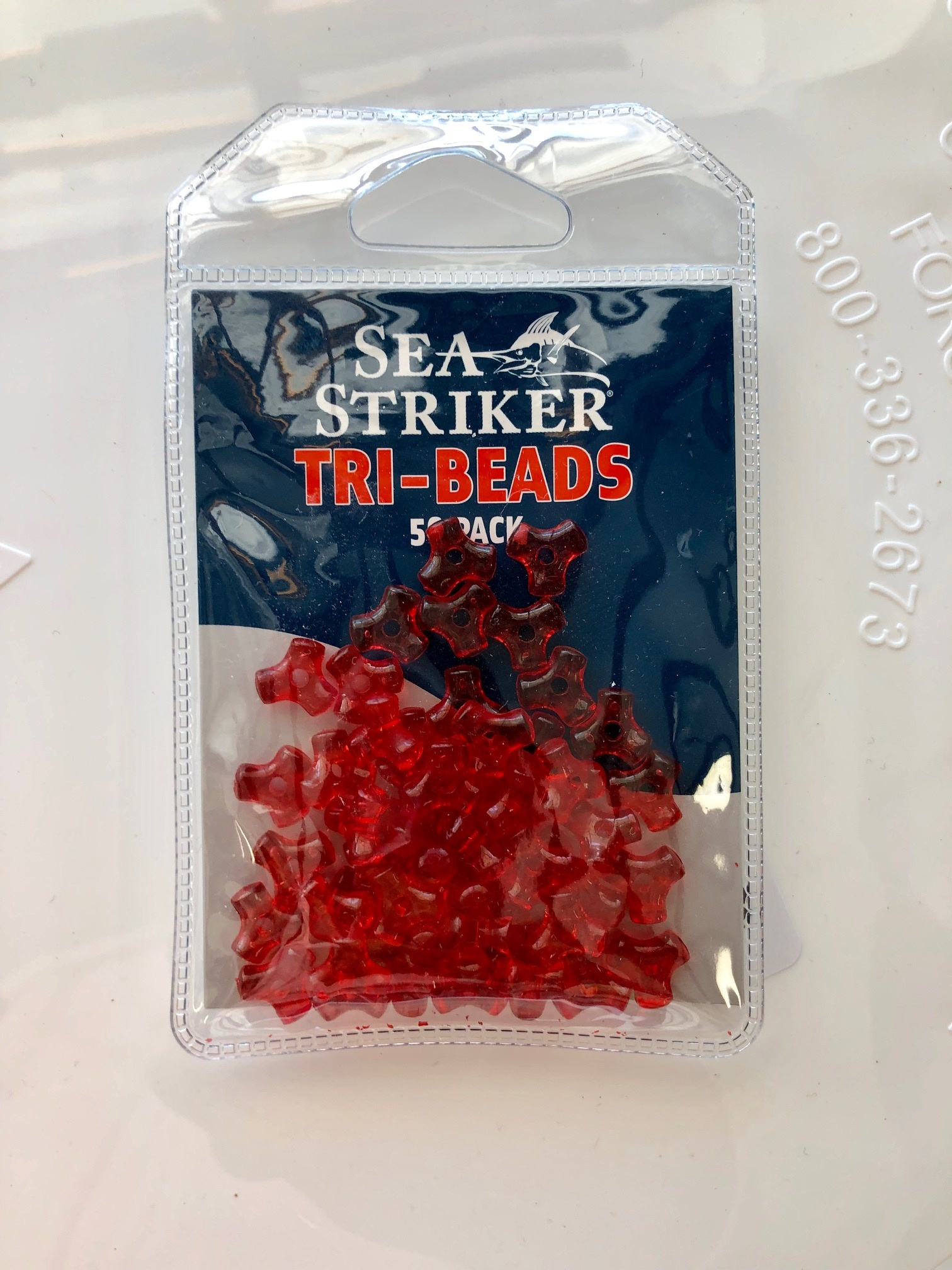 Sea Striker Tri-Beads 50 pack