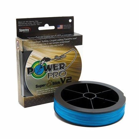 Power Pro Super Slick V2 65 lb 3000 yards blue