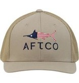 Aftco Meric Flexfit Hat Tan