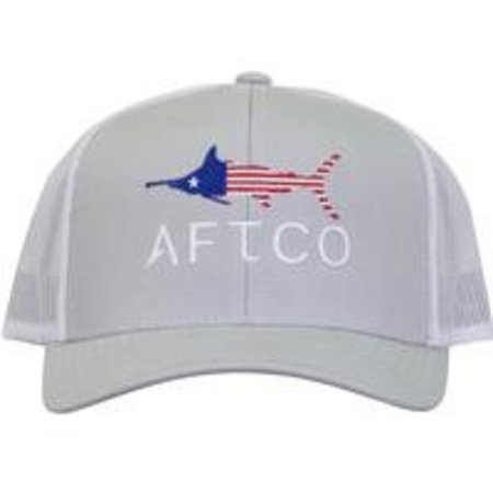 Aftco Merica Hat Silver