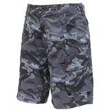 Aftco Tactical Fishing Shorts Black Camo