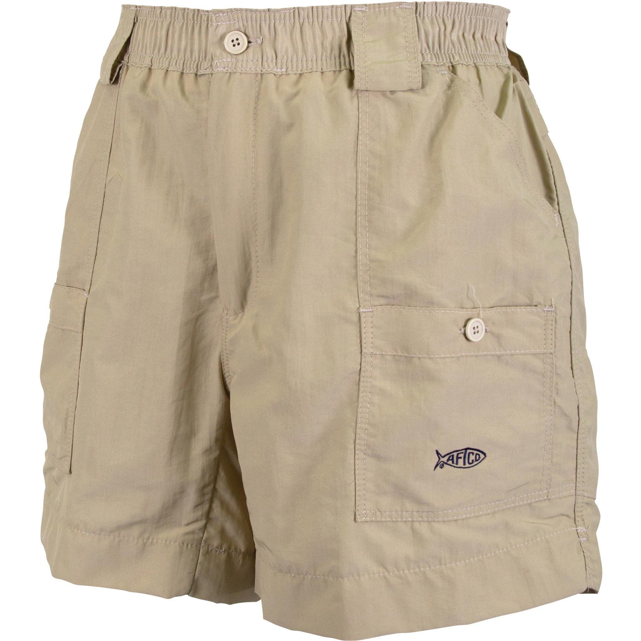 Aftco Original Fishing Shorts Khaki