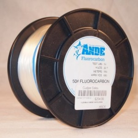 Ande Fluorocarbon 30lb 1lb Spool 1000yds