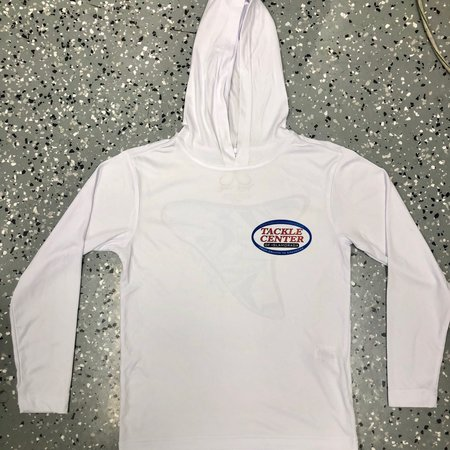 Jessie Jessup Youth Hooded UPF Shirt Shark Tooth