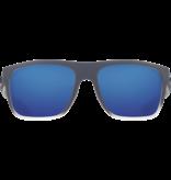 Costa del Mar Ocearch Broadbill Matte Fog Gray/Blue Mirror (580G) Glass