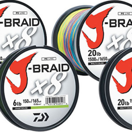 Daiwa J-Braid X8 3300 yards Chartreuse