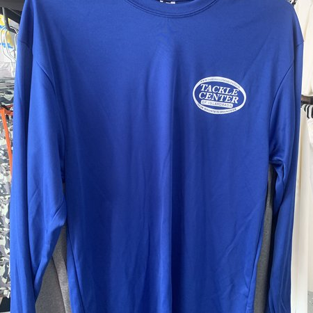 Tackle Center UPF Performance Shirt Blue