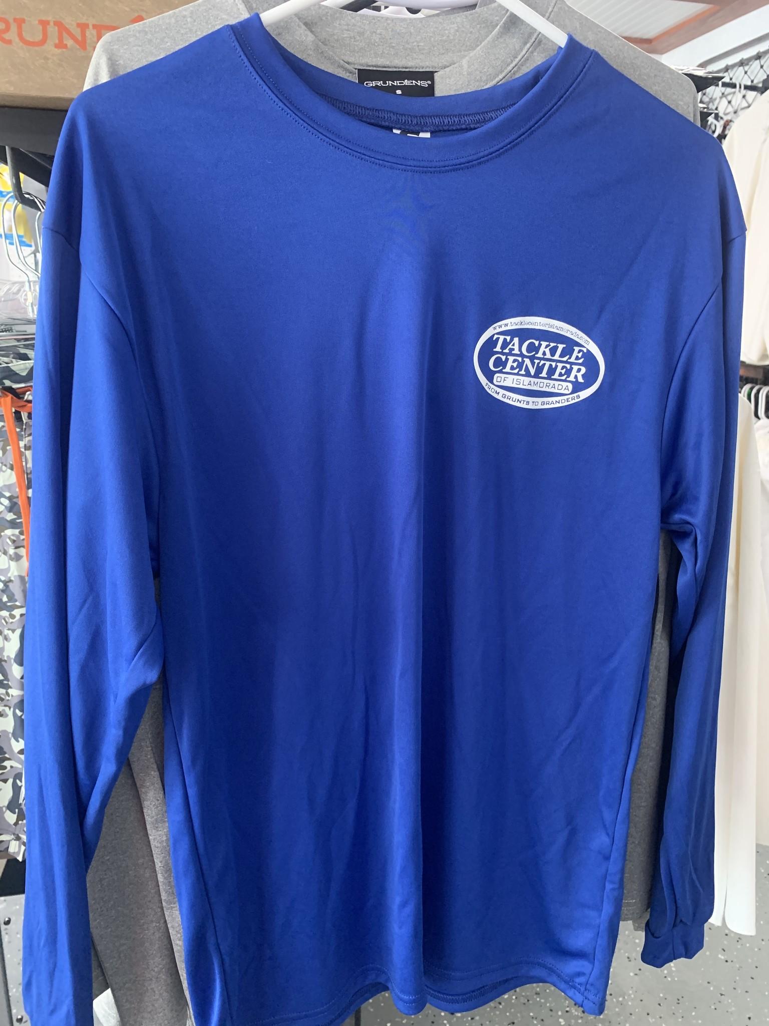 Tackle Center UPF Performance Shirt Blue