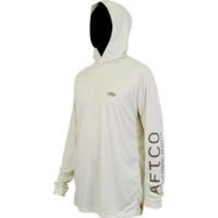 Aftco Samurai 2 Hooded LS Shirt Bone