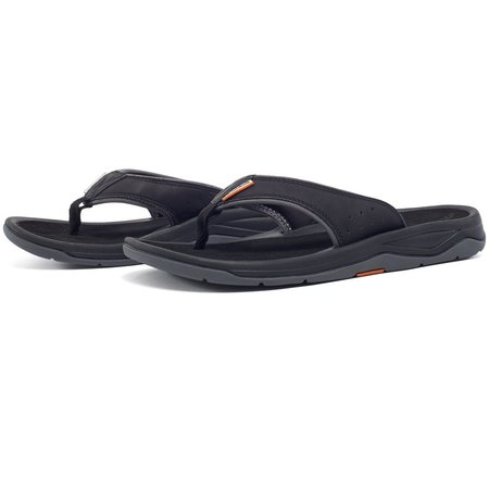 Grundens Deck-Boss Sandals Black