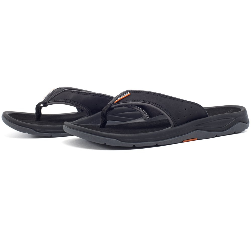 Grundens Deck-Boss Sandals Black