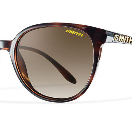 Smith Optics Cheetah Sunglasses Tortoise Frame/Polarized Brown Gradient