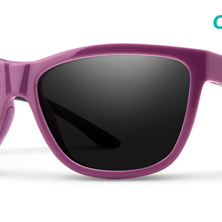 Smith Optics Eclipse Sunglasses Mauve/Black Frame/CP Black
