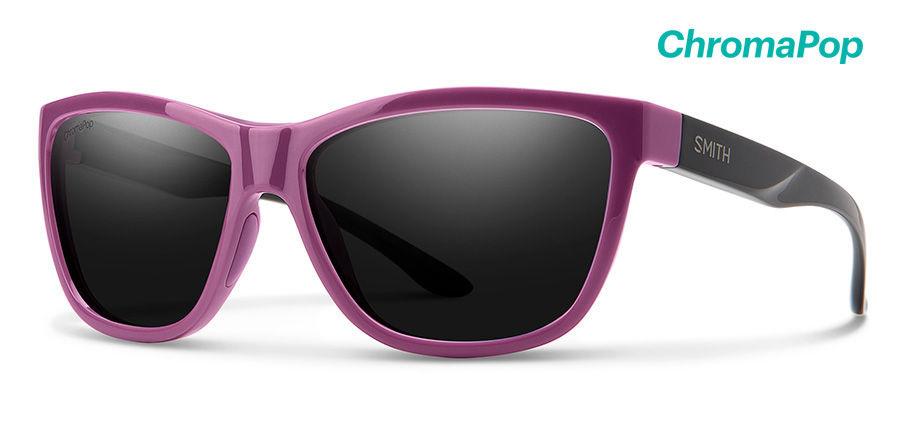 Smith Optics Eclipse Eclipse Sunglasses Mauve/Black Frame/CP Black/Black/CP Black