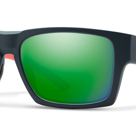 Smith Optics Outlier XL 2 Sunglasses Matte Deep Ink Frame/Green Mirror