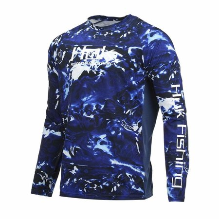 Huk Pursuit Camo Vented LS Hydro Reflex (468)