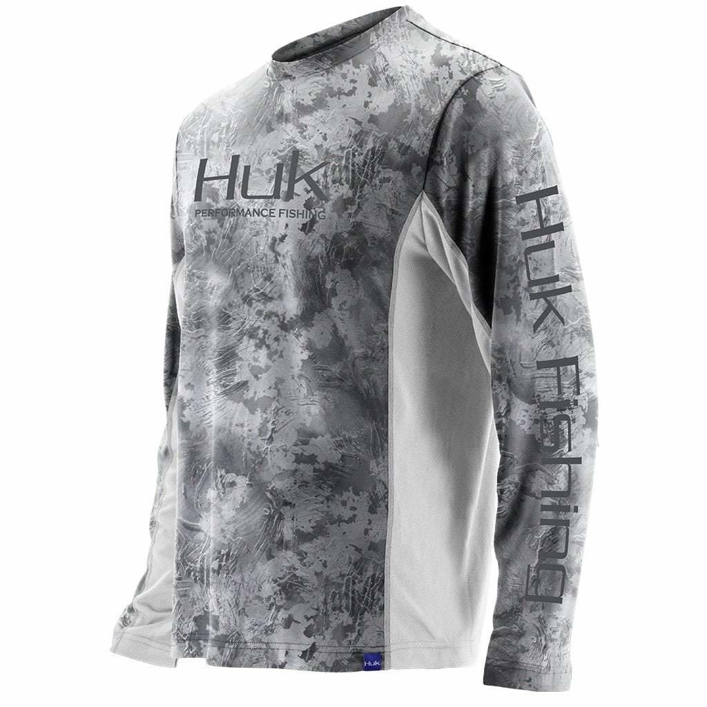 Huk Icon X LS Camo Shirt Subphantis  SubZero (185)