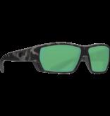 Costa del Mar Tuna Alley Ocearch Sunglasses Matte Tiger Shark Frame/Green Mirror Glass