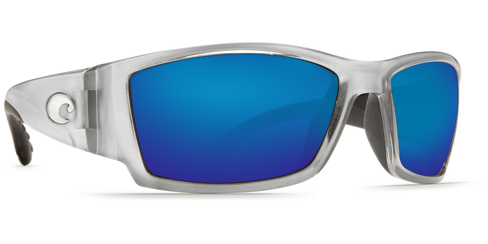 Costa del Mar Corbina Sunglasses Blue Mirror Glass - W580 Silver Frame