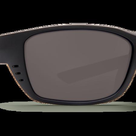Costa del Mar Whitetip Sunglasses Gray 580P Blackout Frame