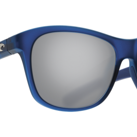 Costa del Mar Vela Ocearch Sunglasses Matte Deep Teal Crystal Frame/Silver Mirror Glass