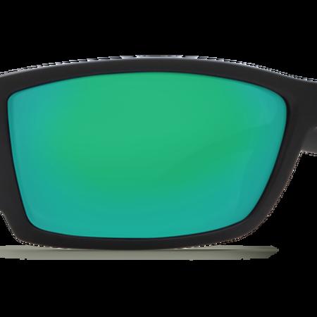 Costa del Mar Corbina Sunglasses Green Mirror Glass - W580 Black Frame