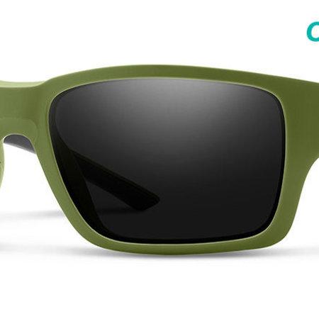 Smith Optics Outback Sunglasses Matte Moss Frame/CP Black
