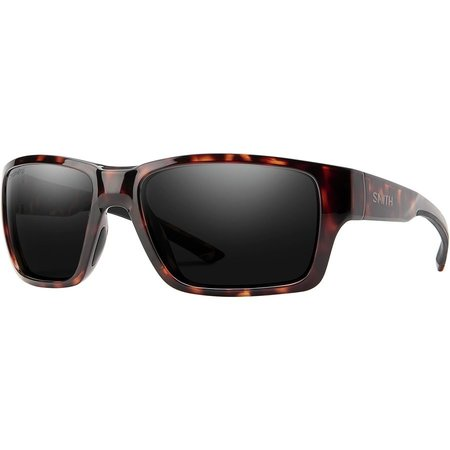 Smith Optics Outback Sunglasses Matte Tortoise Frame/CP Black