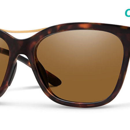 Smith Optics Cavalier Sunglasses Matte Tortoise Frame/CP Brown