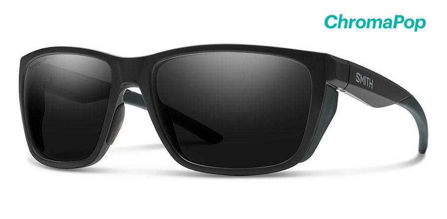 Smith Optics Longfin Sunglasses Matte Black Frame/CP Black