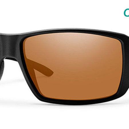 Smith Optics Guide's Choice Sunglasses Matte Black Frame/Copper CP