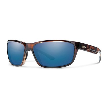 Smith Optics Redmond Sunglasses Tortoise Frame/CP Blue Mirror Glass