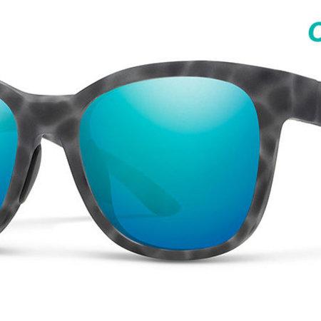 Smith Optics Caper Sunglasses Matte Ash Tort Frame/CP Opal Mirror