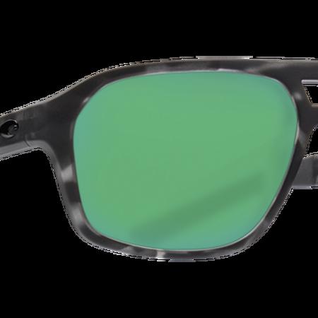Costa del Mar Ocearch Switchfoot Sunglasses Matte Tiger Shark Frame/Green Mirror (580P)