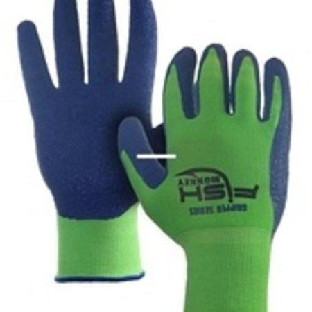 Fish Monkey Gloves FM12-NGRROY-L/XL Gripper Glove