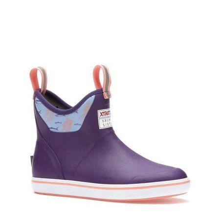 Xtratuf Women's Ankle Boot Purple Jelly Fish