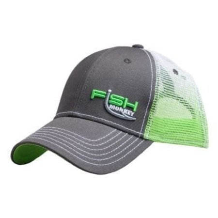 Fish Monkey Gloves FM70  Trucker Snap-Back Mesh Hat