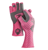 Fish Monkey Gloves Half Finger Guide Glove Lite Pink
