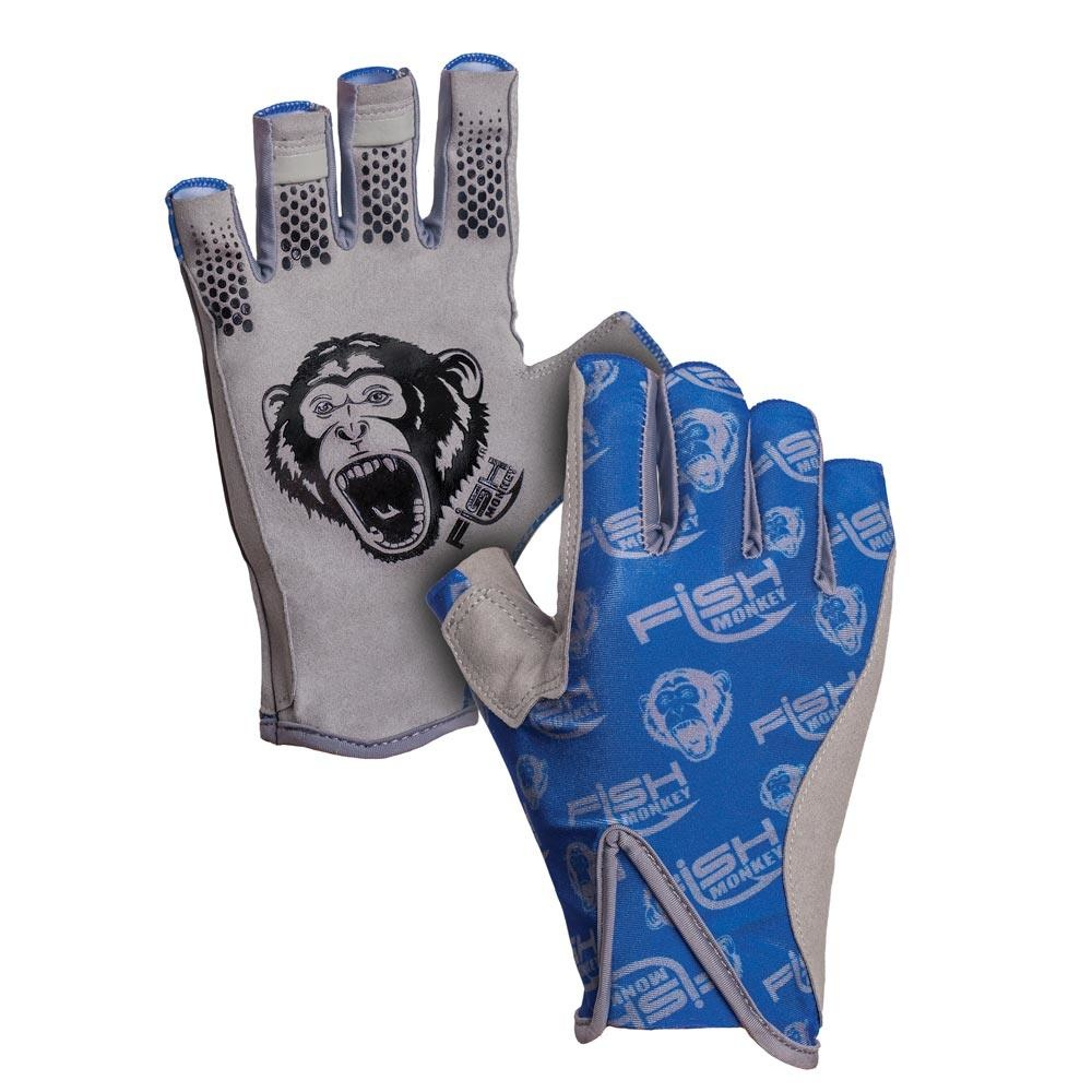 Fish Monkey Gloves Pro 365 Guide Glove Royal Blue
