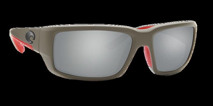 Costa del Mar Fantail Sunglasses Race Gray Frame/Gray Silver Mirror Glass