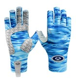 Flying Fisherman Sunbandit Pro Series Gloves Blue